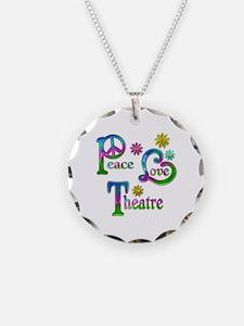 Peace Love Theatre Necklace