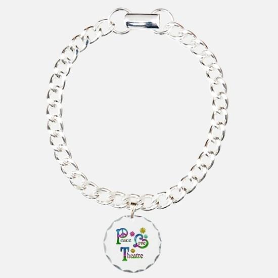 Peace Love Theatre Bracelet