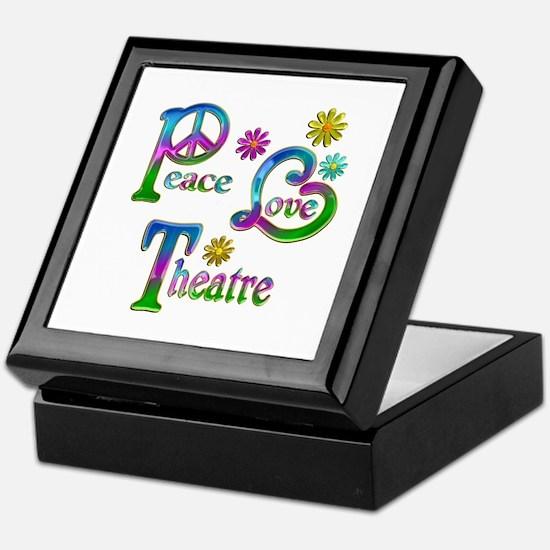Peace Love Theatre Keepsake Box