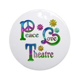 Theater Round Ornaments