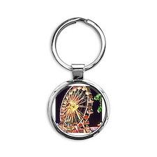 Ferris Wheel Round Keychain