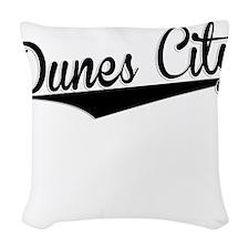 Dunes City, Retro, Woven Throw Pillow