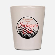 Swingers Club Shot Glass
