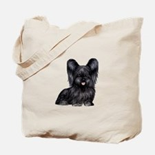 Skye Terrier (blk) Tote Bag