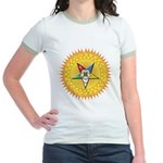 OES In the Sun Jr. Ringer T-Shirt