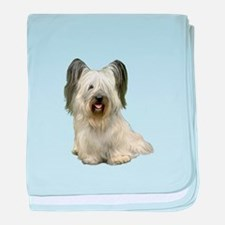 Skye Terrier (lt) baby blanket
