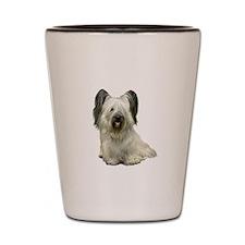 Skye Terrier (lt) Shot Glass