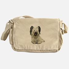 Skye Terrier (lt) Messenger Bag