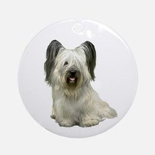 Skye Terrier (lt) Ornament (Round)