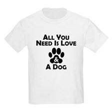 Love And A Dog T-Shirt