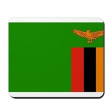 Zambia Flag Mousepad