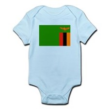 Zambia Flag Body Suit