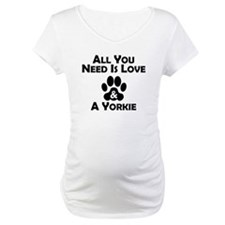 Love And A Yorkie Shirt