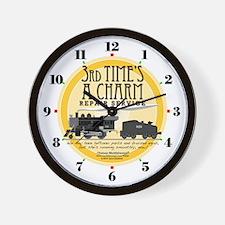Third Time's A Charm Repair Service Clock