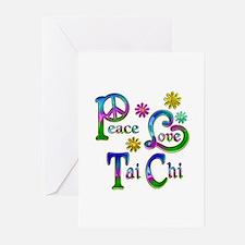 Peace Love Tai Chi Greeting Cards (Pk of 20)