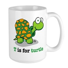T is for Turtle Mugs