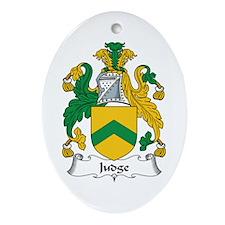 Judge Oval Ornament