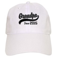 Grandpa Since 2015 Cap