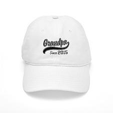 Grandpa Since 2015 Hat