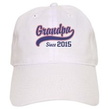 Grandpa Since 2015 Hat