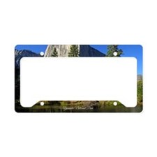 Yosemite National Park License Plate Holder
