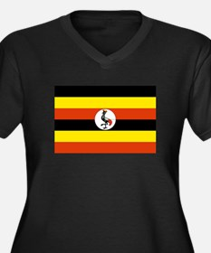 Uganda Flag Plus Size T-Shirt