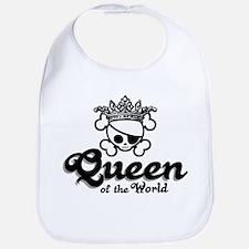 Queen of the World Bib