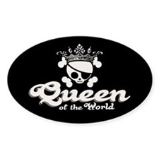 Queen of the World Decal
