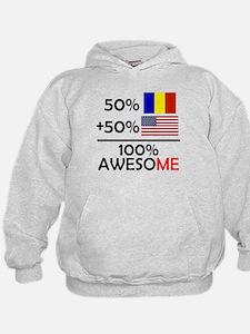 Half Romanian Half American Hoodie