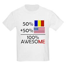Half Romanian Half American T-Shirt