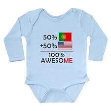 Half Portuguese Half American Body Suit