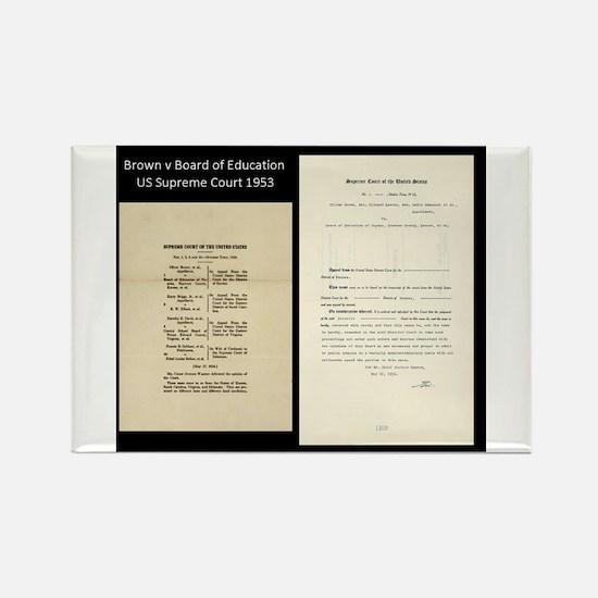 Brown V Board Ed Supreme Court 1953 Magnets