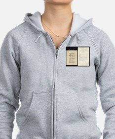 Brown V Board Ed Supreme Court 1953 Zip Hoodie