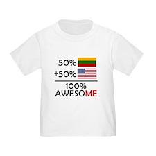 Half Lithuanian Half American T-Shirt