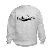 Eagle River, Retro, Sweatshirt