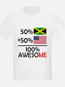 Half Jamaican Half American T-Shirt
