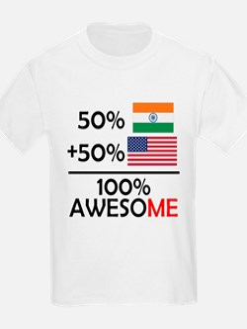 Half Indian Half American T-Shirt