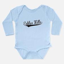 Eakles Mills, Retro, Body Suit