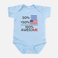 Half Greek Half American Body Suit