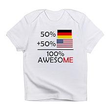 Half German Half American Infant T-Shirt
