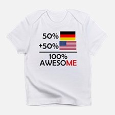 Half German Half American Infant T-Shirt