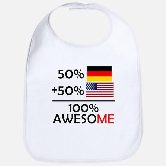 Half German Half American Bib
