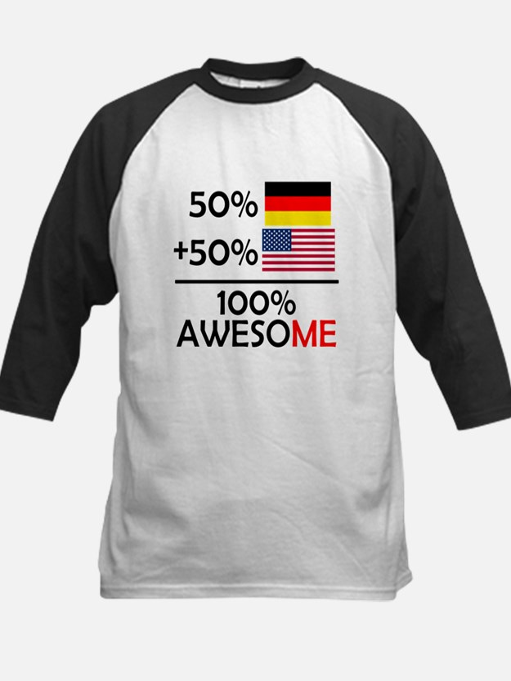 Half German Half American Baseball Jersey