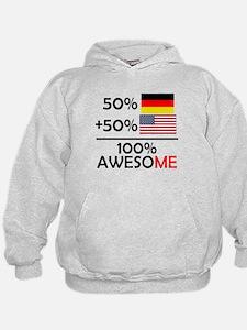 Half German Half American Hoodie