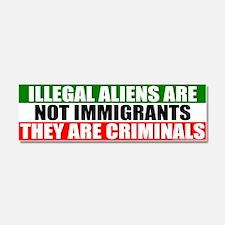 Cute Immigration immigrant immigrants Car Magnet 10 x 3