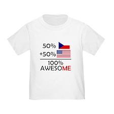 Half Czech Half American T-Shirt
