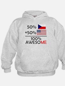 Half Czech Half American Hoodie