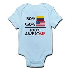 Half Colombian Half American Body Suit