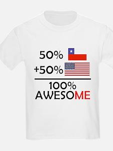 Half Chilean Half American T-Shirt