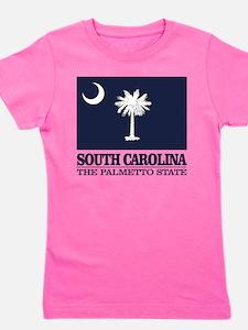 South Carolina Flag Girl's Tee